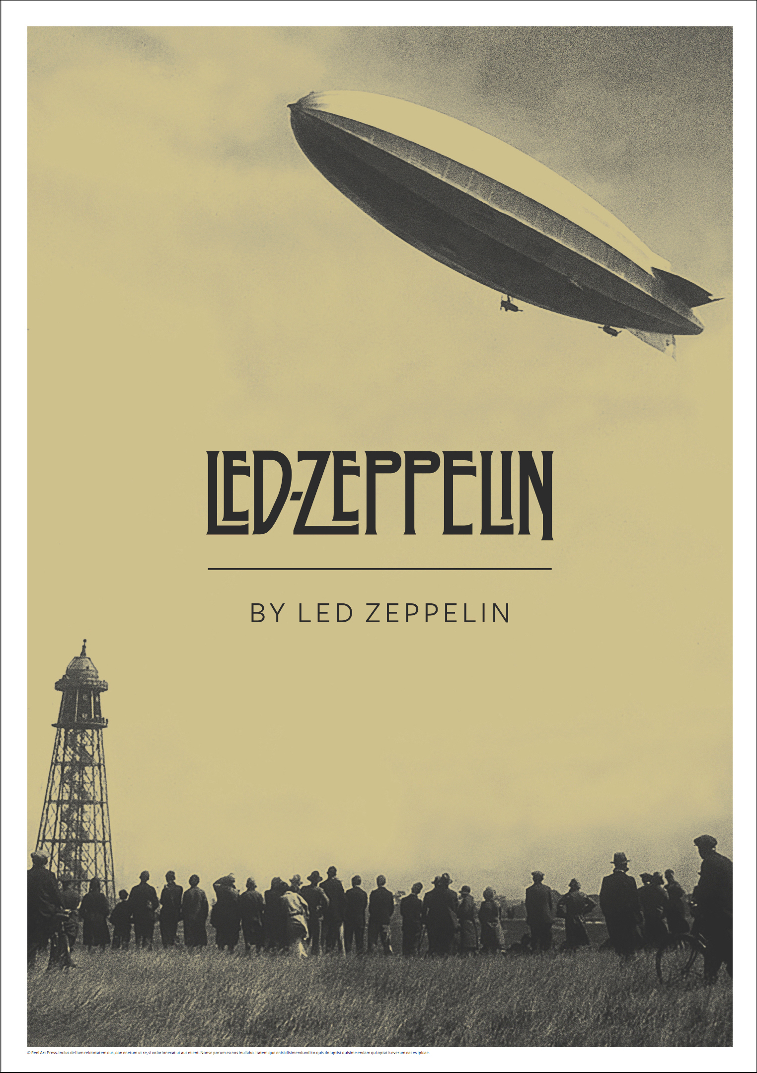 Led Zeppelin Poster Stockists